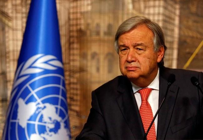 António Guterres alerta para