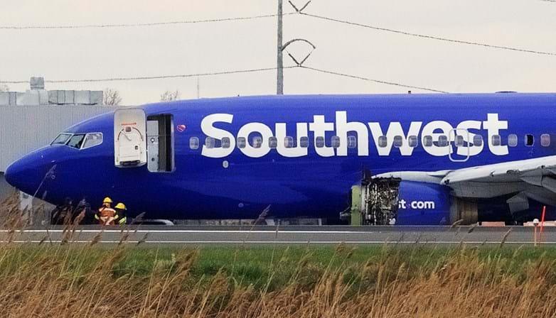 Outro voo da Southwest Airlines é obrigado a fazer pouso de emergência