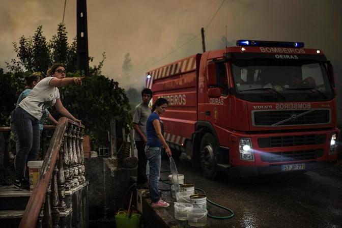 Perigo de incêndio florestal aumenta até quinta-feira, alerta Proteção Civil