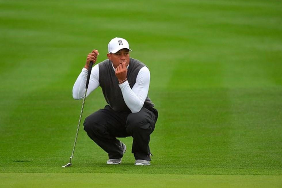 Golf, Tiger Woods, golfer, Break