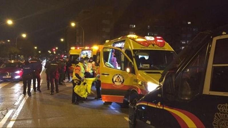 fb3db19eb5 Jovem apunhalado com gravidade junto a estádio do Atlético Madrid ...