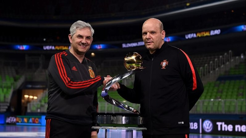 Jorge Braz renova até 2020 após conquista de título europeu de futsal 7d3674079dae2