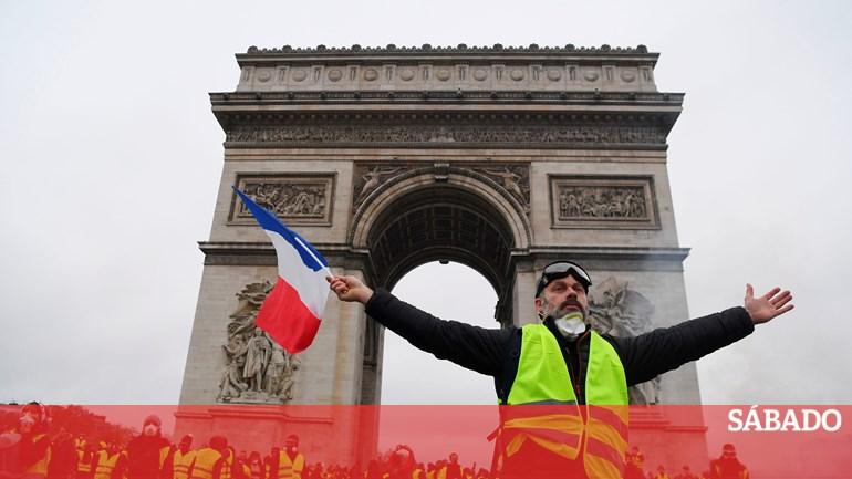 """Perto de 2.000 """"coletes amarelos"""" identificados nos protestos - Europa -  SÁBADO 3f4077f850f85"""