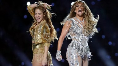 A arrasadora festa latina de Jennifer Lopez e Shakira no Super Bowl