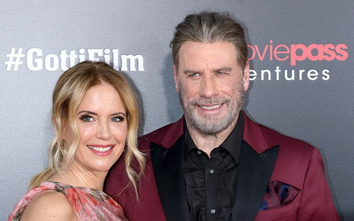 Kelly Preston e John Travolta, 30 anos de história