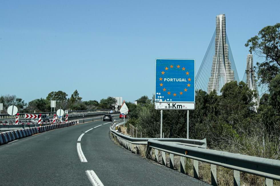 Spain-Portugal border