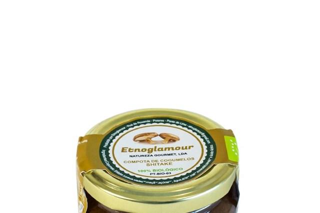 Compota de Cogumelo Shitake e Moscatel Biológica (PVP: 2,99€)